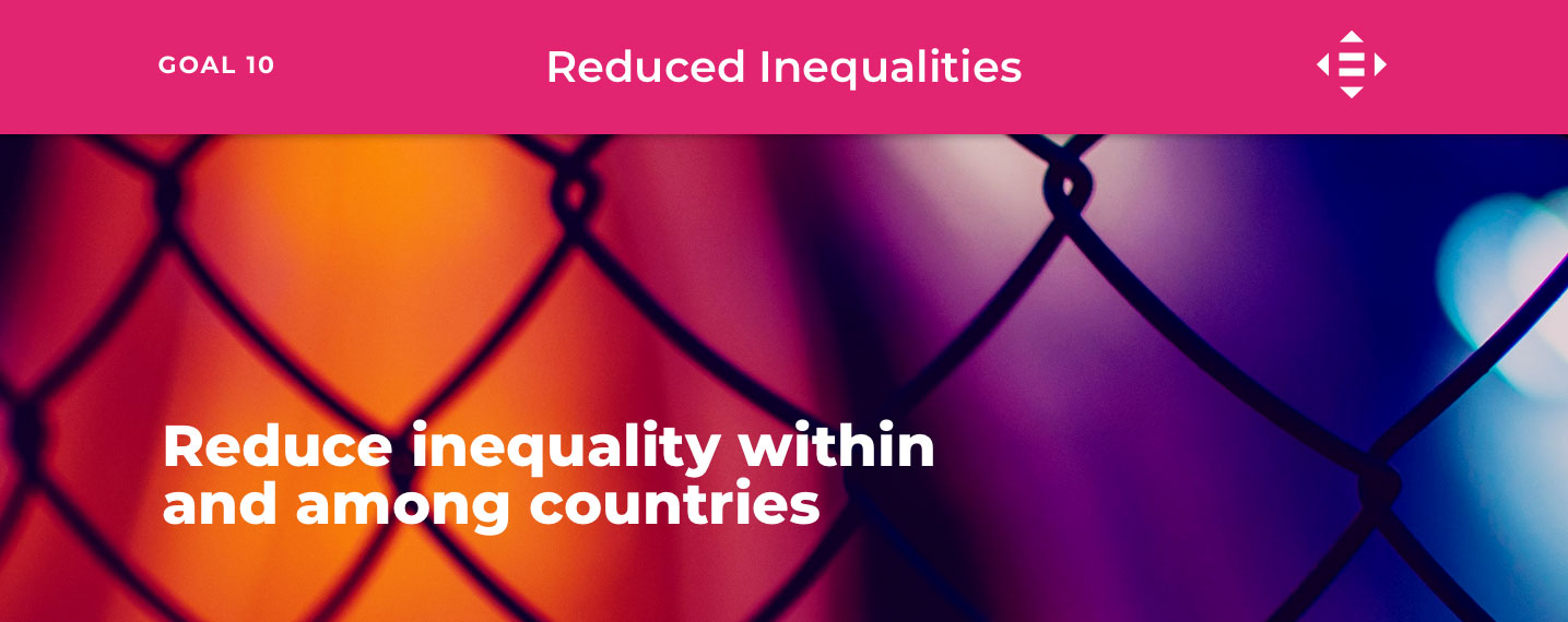 SDG10 – Reduce Inequalities
