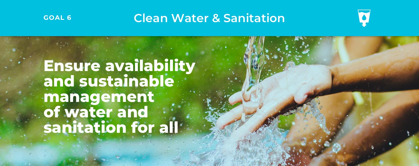 SDG6 – Clean Water & Sanitation