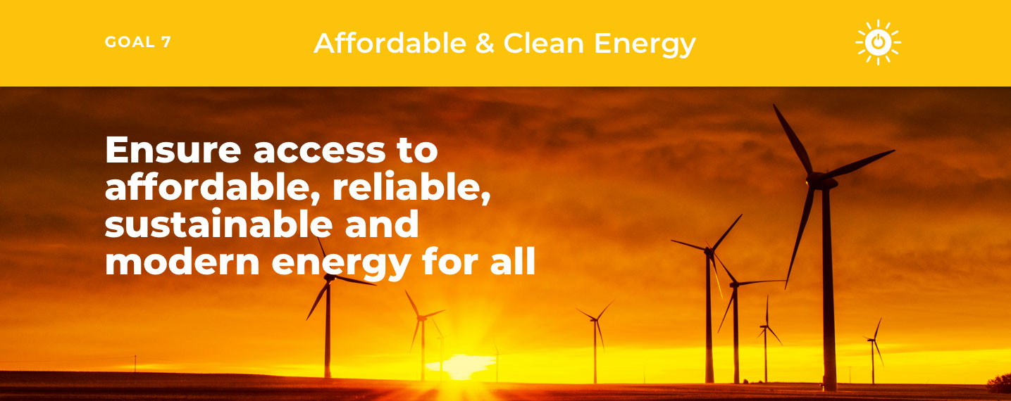 SDG7 – Affordable & Clean Energy