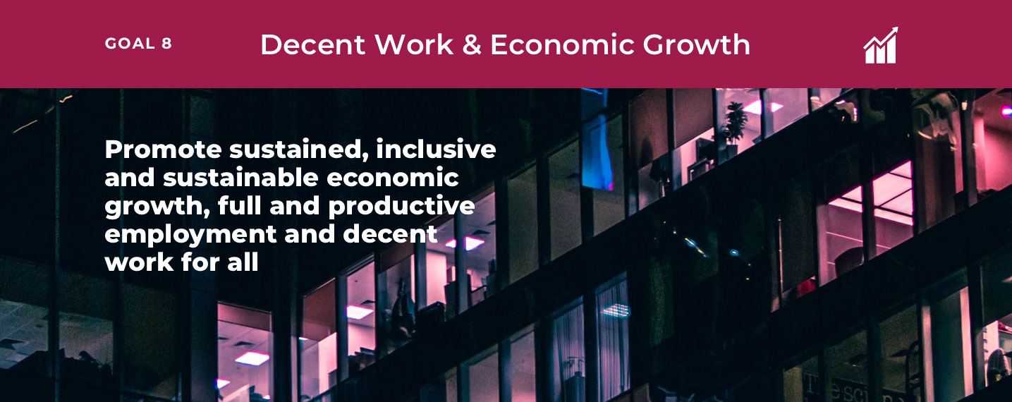 SDG8 – Decent Work & Economic Growth