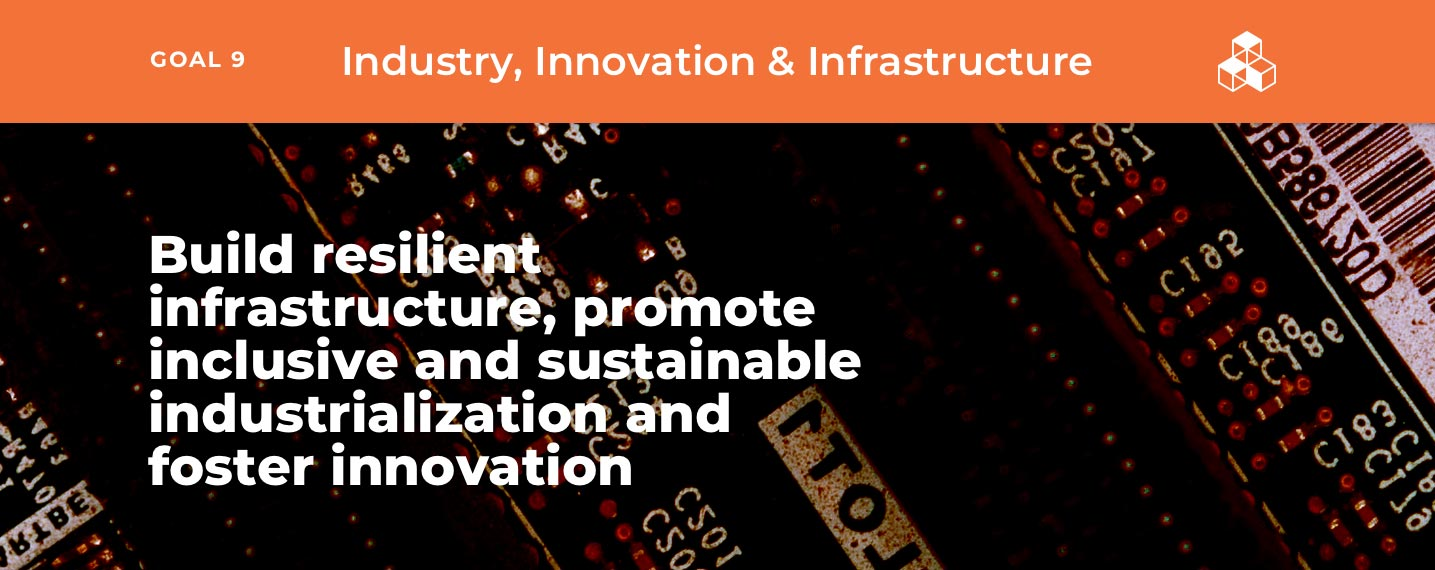SDG9 – Industry, Innovation & Infrastructure